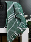 Hand/Face Hammam Towel Sultan Forest Green