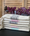 Hammam Linen Hand Towel Set 6 pcs