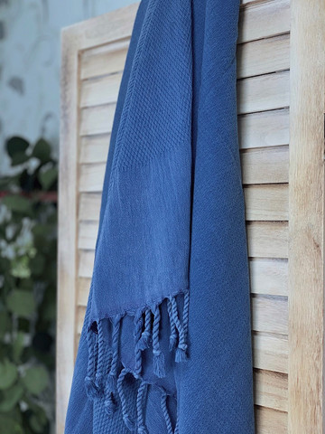 Kivipesty BASIC Hamam-pyyhe Denim
