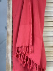 Stonewashed BASIC Hammam Towel Coral