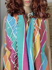 Beach Stripe Hammam Towel Color Bomb
