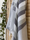 Beach Hammam Towel Anthracite