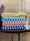 Hamam-Pyyhepaketti 4 kpl Zebra Slim Valitse Värit Vapaasti