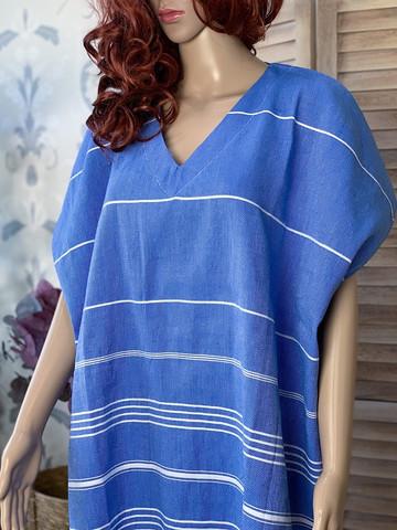 Hamam-klänning Sultan Ocean Blå
