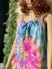 Hammam Dress Tie-dye Bamboo Aqua-Candy