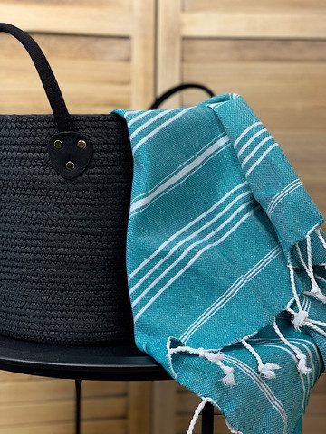 Hand/Face Hammam Towel Sultan Petrol Green