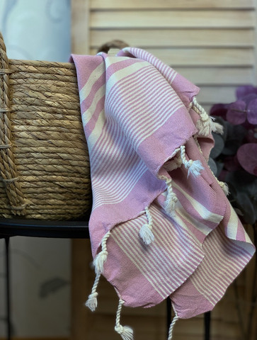 Hand/Face Hammam Towel Aegean Rose
