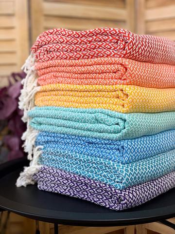 Hammam Towel Set Crystal Hand-loomed 7 pcs