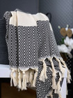 Marquise Hammam Towel Black