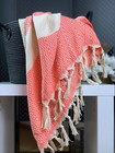 Marquise Hammam Towel Coral