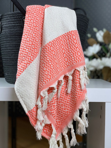 Marquise Hammam Face/Hand Towel Coral