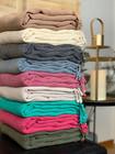 Hamam-Pyyhepaketti 9 kpl Kivipesty Stripe Valitse Värit Vapaasti