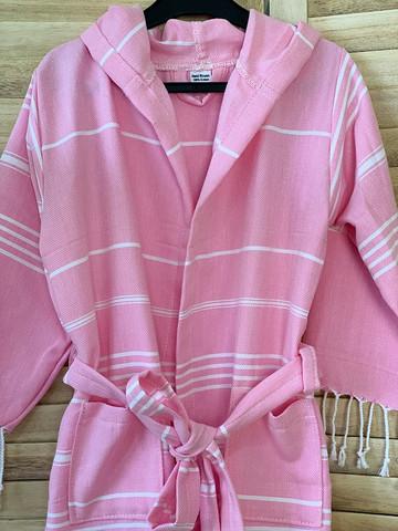 Lasten Hamam-kylpytakki Pinkki
