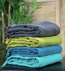 Hamam-Pyyhepaketti 4 kpl Kivipesty Stripe Valitse Värit Vapaasti