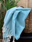 Pastel Hammam Towel Turquoise