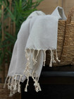 Pastel Hammam Hand Towel Light Gray