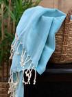 Pastel Hammam Hand Towel Turquoise