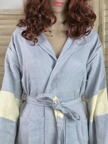 Hamam-kylpytakki Timantti Baby Blue koot S,M,L,XL