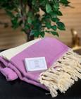 Chevron Hamam Handduk & Lavender Tvål Paket