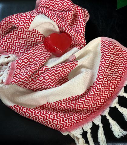 Marquise Hamam Små Handduk & Heart Tvål Paket