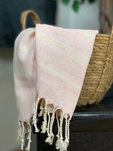 Sultan Slim Hammam Hand Towel Powder Pink