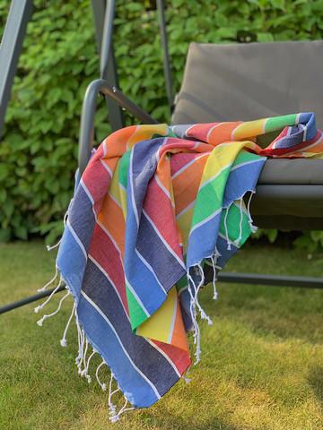 Beach Stripe Hamam-pyyhe Sunshine