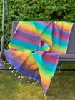 Beach Hamam-pyyhe Vivid Rainbow