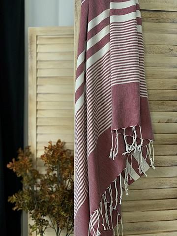 Aegean Hammam Towel Plum