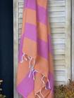 Sunset Hammam Towel Orange-Candy