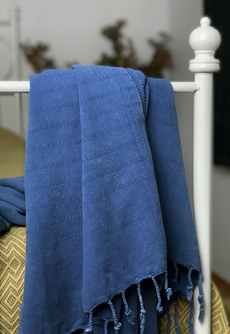 Kivipesty Trend Hamam-pyyhe Merensininen