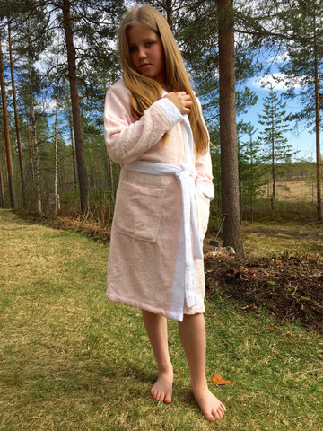 Girls Mermaid Bathrobe Bamboo
