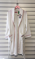 White Bambu-Dressing Gown