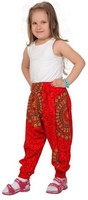 Harem Pants Red