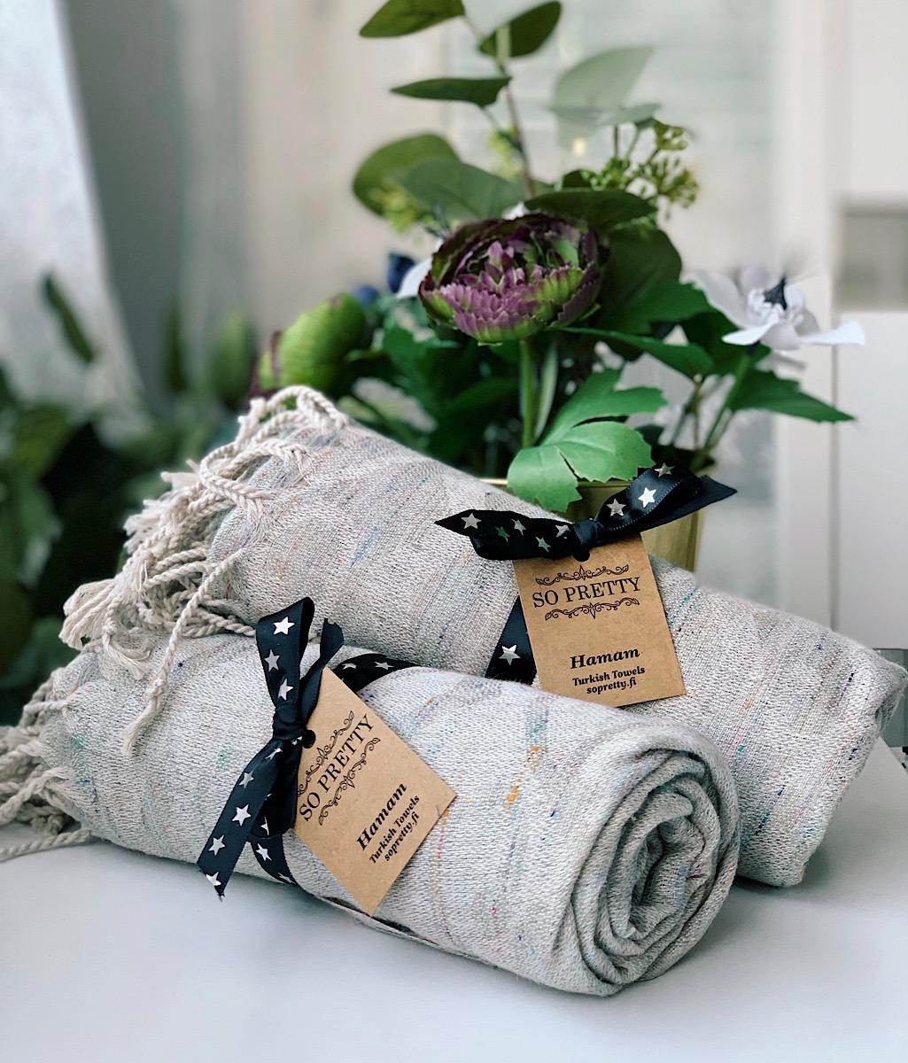 Miksi hamam-pyyhe on loistava liikelahja?