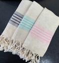 Linne hamam små handdukar