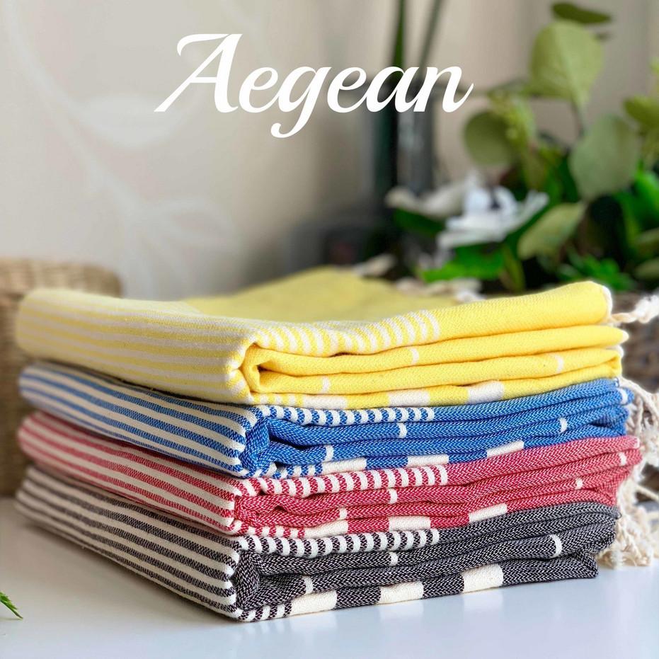 aegean hammam towels