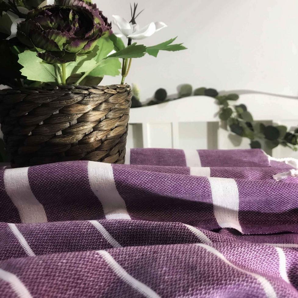 athena hamam-pyyhe violetti