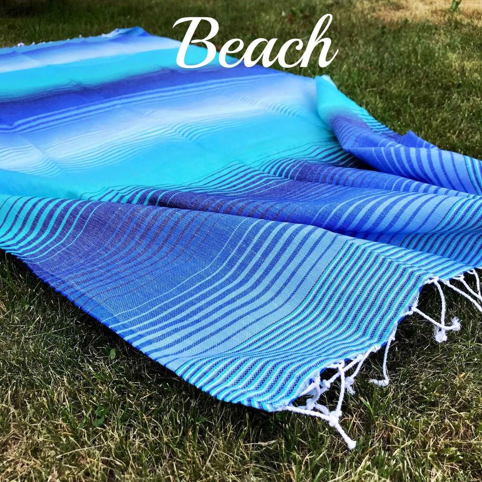 beach hamam handdukar