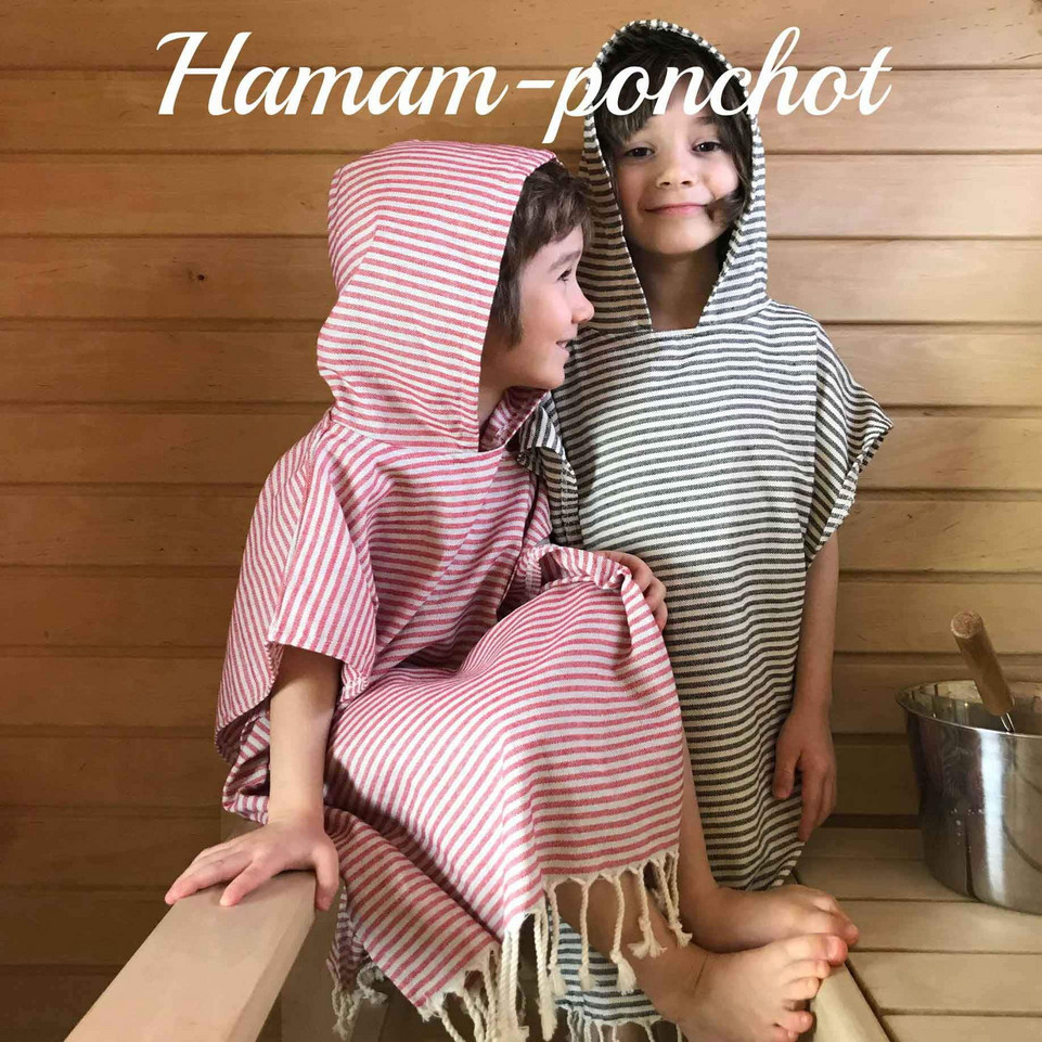 hamam-ponchot lapsille