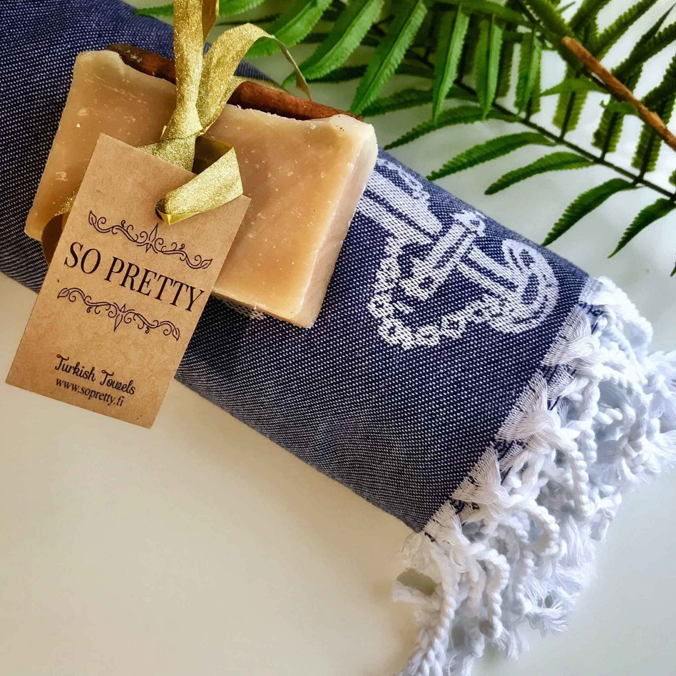jacquard hamam handdukar