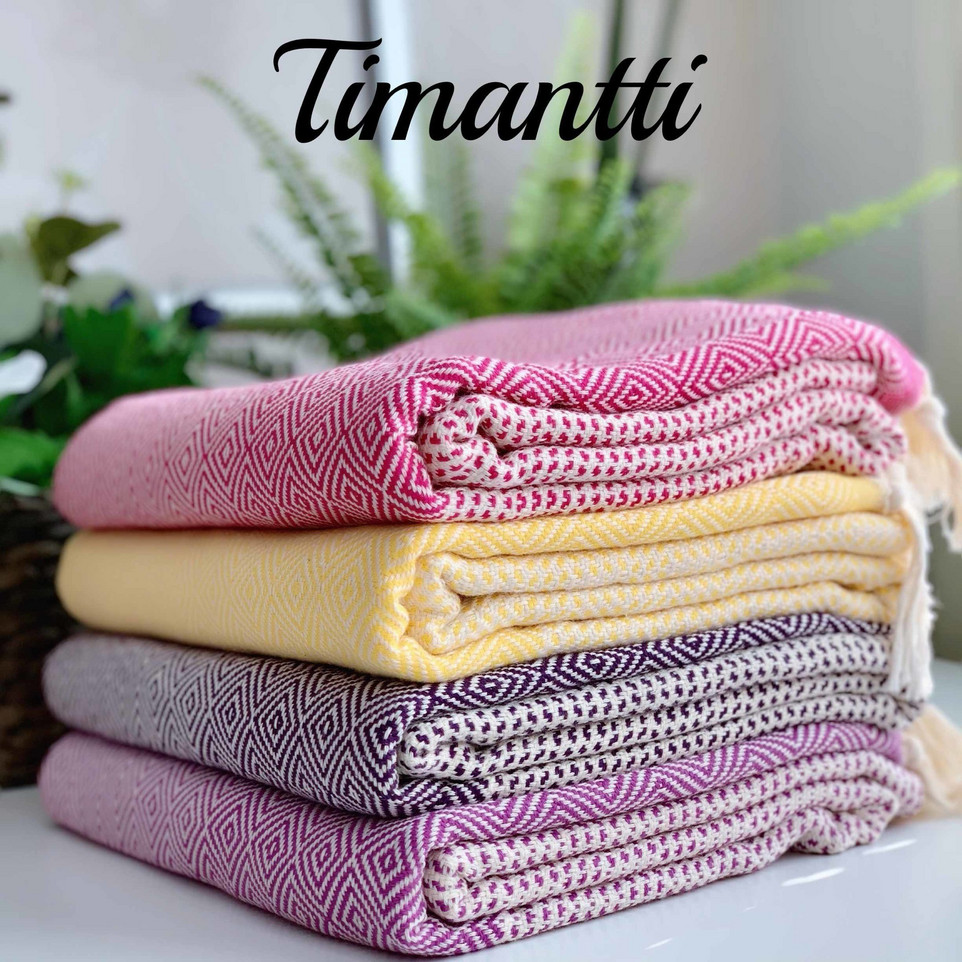 Timantti hamam-pyyhkeet