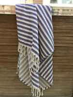 Stripe Hammam-towel Purple