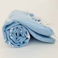 Sultan Hammam Towel Baby Blue