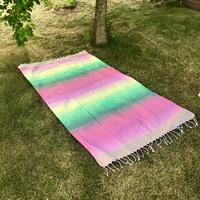 Beach Rainbow Hamam Handduk Rosa d295c8714e0a8