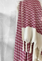 Artemis Handloomed Hammam Towel Cherry