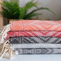 Oriental Handloomed Hammam Hand Towel Set 5 pcs