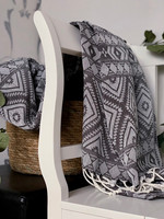 Oriental Hammam Towel Hand-loomed Anthracite