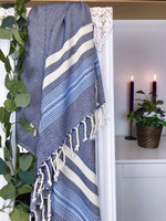 SMYRNA Hammam-Towel Handloomed Navy