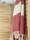 Diamond Hammam Towel Red