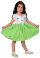 Zeynep-dress, green